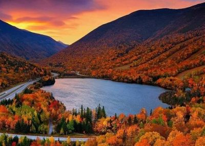 Echo Lake - Franconia Notch
