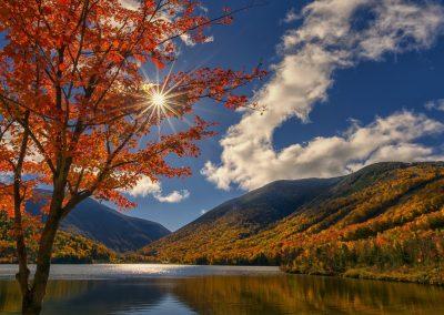 Echo Lake - Franconia Notch New Hampshire