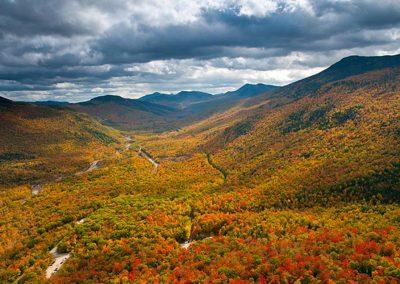 White Mountains of New Hampshire - Fall Foliage